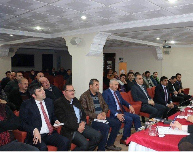 ET Ve Süt Kurumu Erzincan'da Üreticileri Bilgilendirdi