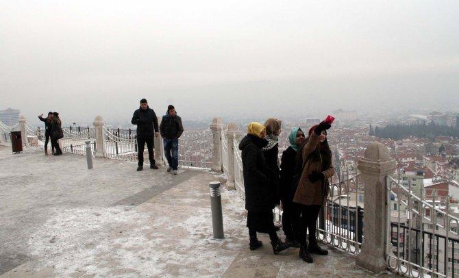 Bursa, yoğun pus altında