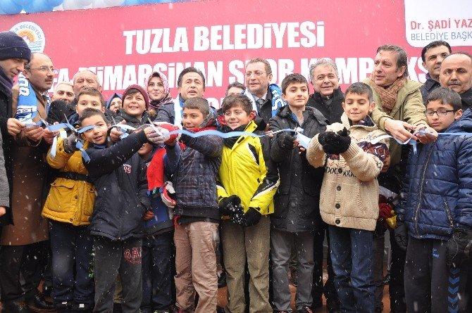 Tuzla'da Şifa Mimar Sinan Spor Kompleksi'nin Açılışı Gerçekleştirildi
