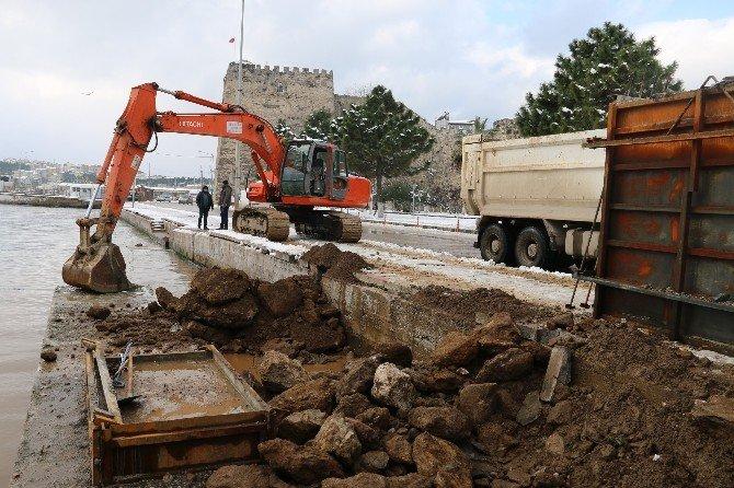 Sinop'ta Rıhtım Genişliyor