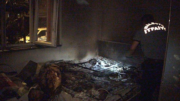 Bilecik'te Ev Yangını