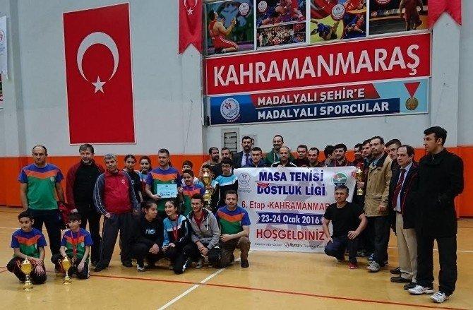 Yeşilyurtspor Masa Tenisi Takımı, Başarıya İmza Attı