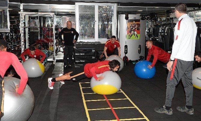 Galatasaray, Kastamonu Maçı Öncesi Son Antrenmanını Yaptı