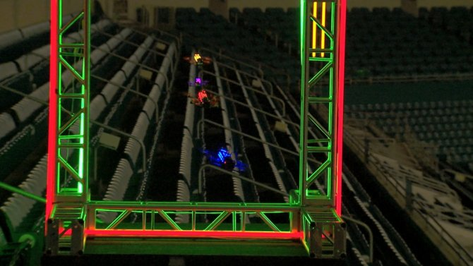 Geleceğin sporu 'Drone yarış ligi' başlıyor