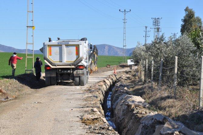 Kozan'ın içme suyu şebekesi yenileniyor