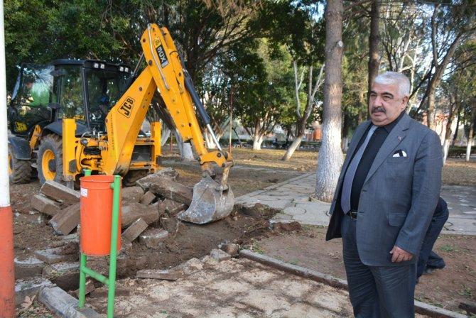 Kozan'daki 25 yıllık park yenileniyor
