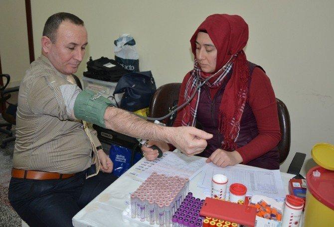 Afyonkarahisar Valiliği Personeli Kan Bağışında Bulundu