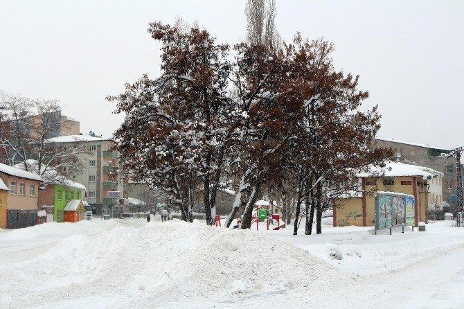 Kar Yağışıyla Ortaya Çıkan Kartpostallık Görüntüler