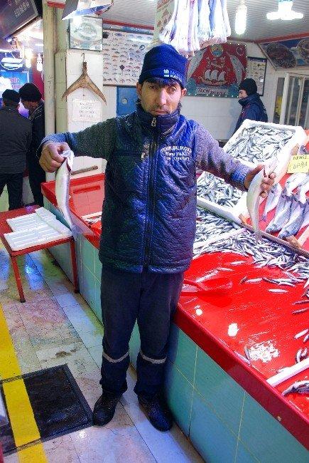 Kar Yağdı Balık Satışları Arttı