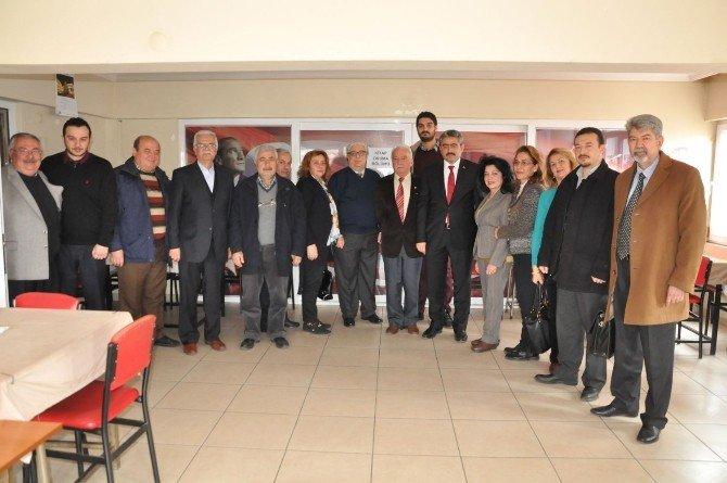 Başkan Alıcık'tan Nazilli CHP'ye Ziyaret