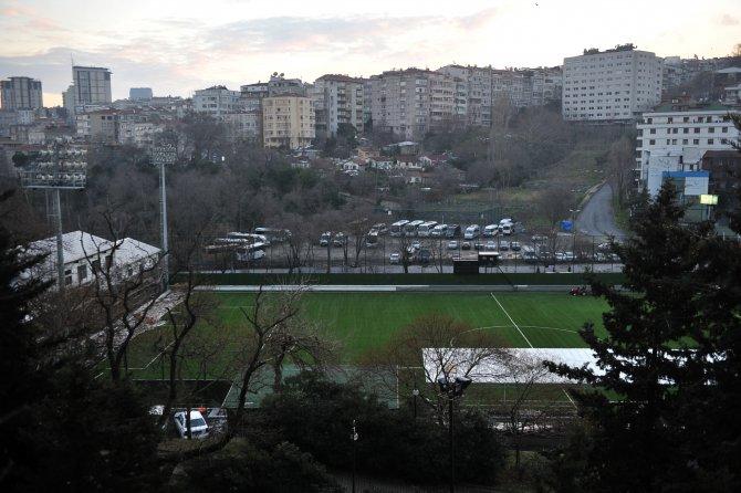 Beşiktaş'ın Fulya tesisleri yıkılıyor