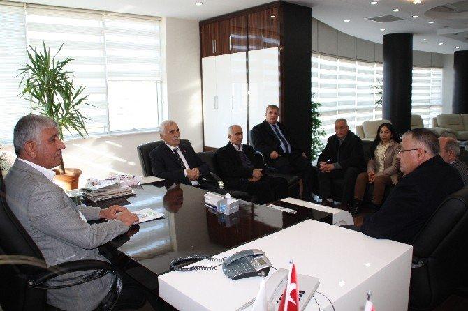 CHP'den, Başkan Uslu'ya Ziyaret