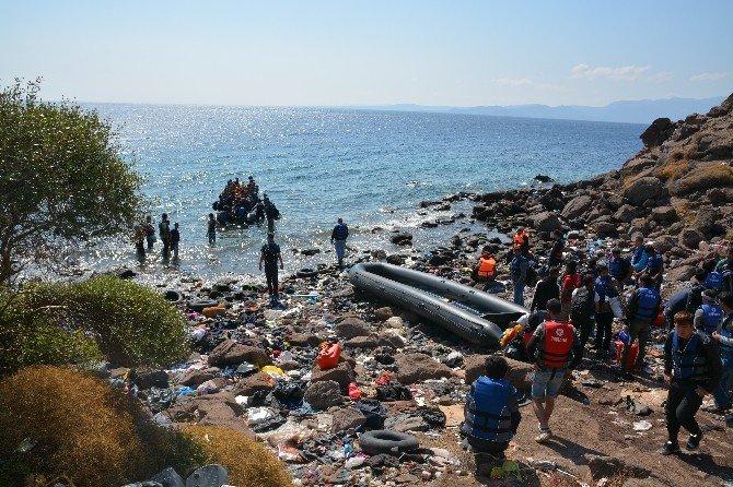 Balıkesir'de 10 Günde 624 Kaçak Göçmen Yakalandı