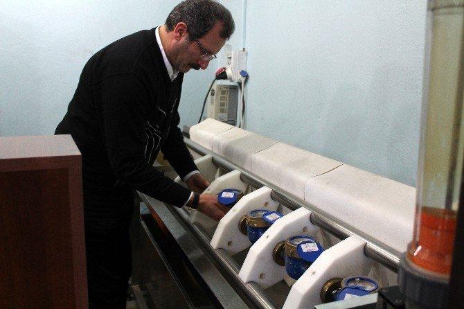 Erzurum'da Soğuk Hava Su Sayaçlarını Patlattı
