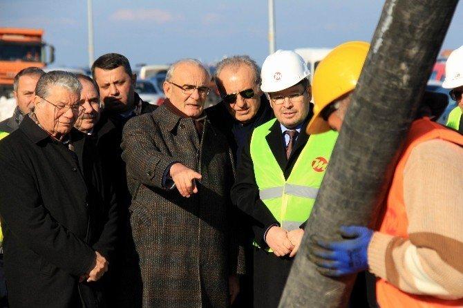 Samsun'da Raylı Sistem 31 Km'ye Çıkıyor