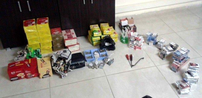 Hırsızlık Zanlısı Kiraladığı Araçta Uyurken Polise Yakalandı