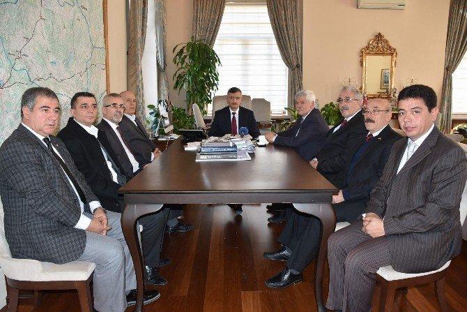 CHP Yeni İl Yönetiminden Vali Bektaş'a Ziyaret