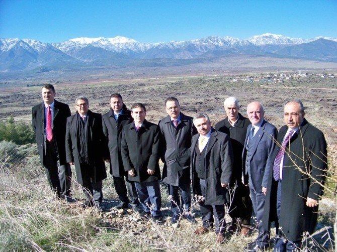 İskenderunlu İş Adamları, Hassa'da Buluştu