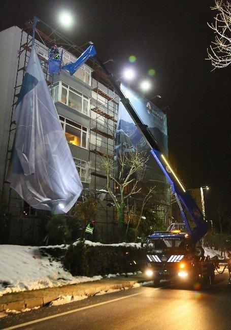 Şişli'de Bina Cephelerine Rehabilitasyon