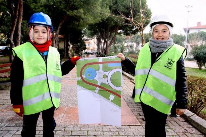 Çocuklar tasarladı, belediye yapacak