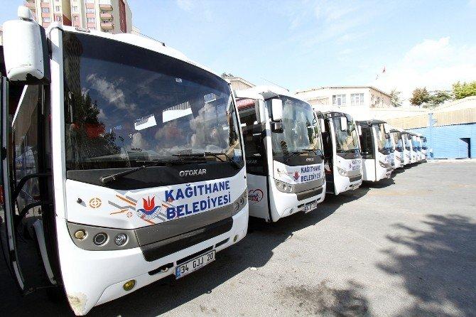 Kağıthane Belediyesi Ücretsiz Ulaşım Sağlıyor