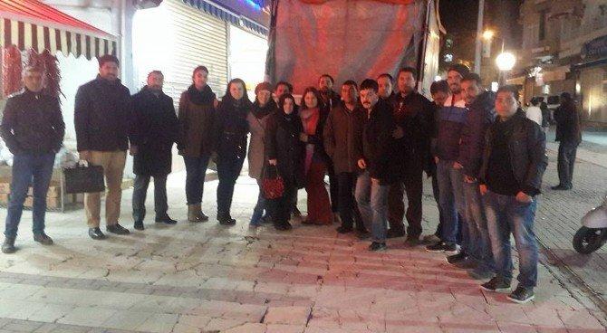 Kuşadası AK Parti'den Bayırbucak Türkmenleri'ne Yardım