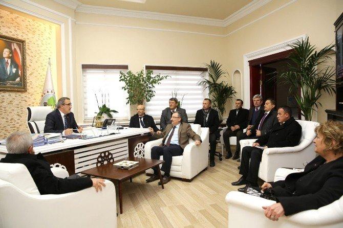 Genel Sekreter Memiş'ten , Alaşehir'de İnceleme