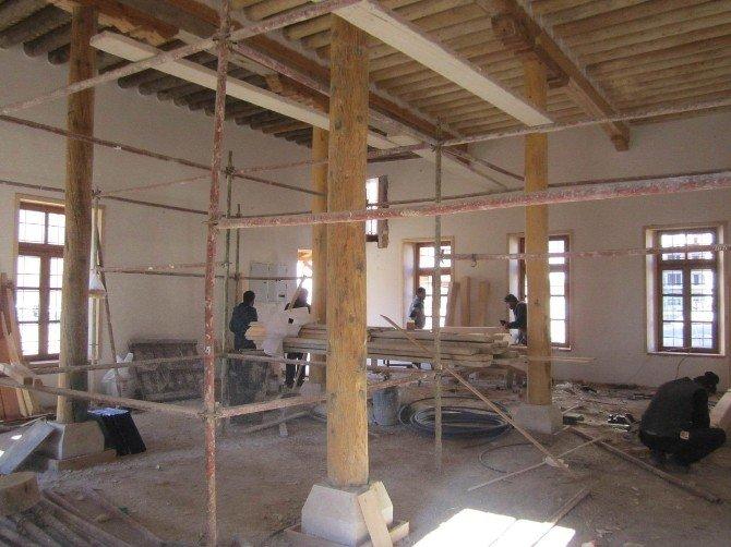 Meram'da Tarihi Ve Kültürel Doku Gün Yüzüne Çıkıyor