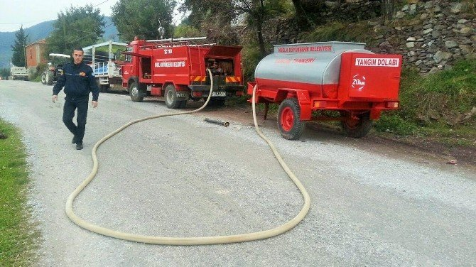 Kırsal Mahallelere Yangın Eğitimi
