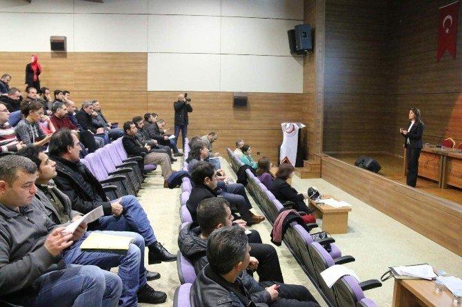 Nehü'de 'Toplumsal Cinsiyet Eşitliği Ve Mevzuat' Konusunda Eğitim Ve Bilgilendirme Toplantısı Yapıldı