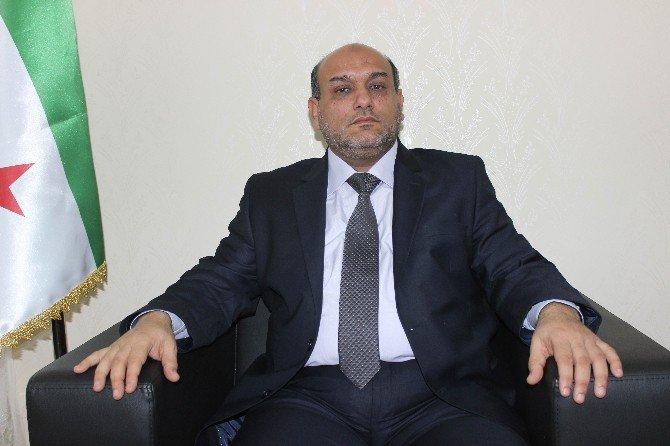 Şam'iye Cephesi Komutanı General Muhhamed El Ahmed'in Basın Toplantısı