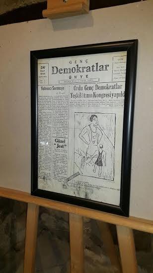 'Geçmişten Günümüze Basın' sergisi