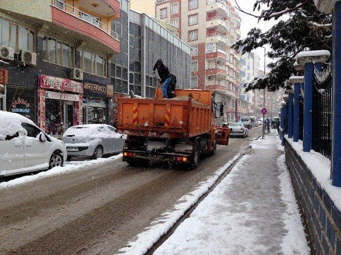Siirt'te Karla Mücadele Çalışmaları
