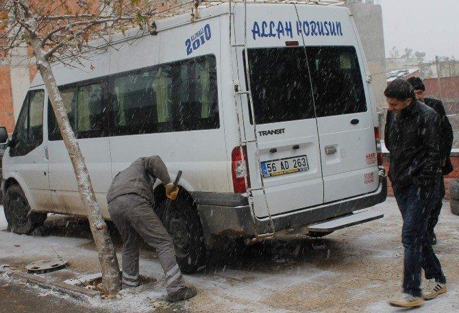 Kar Yağışı En Çok Onların İşine Yaradı