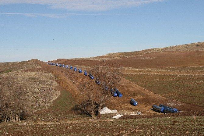 Tanap Çalışmaları Yozgat'ta Hızla Sürüyor