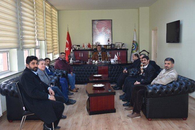 Tekirdağ 59 Roman Dernekleri Federasyonu'ndan Yurdakul'a Ziyaret