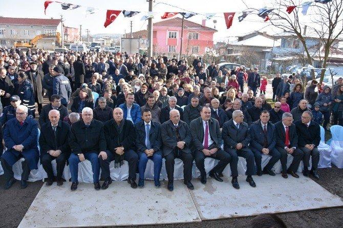 Ergene'de 24 Derslikli Okul Temeli Atıldı