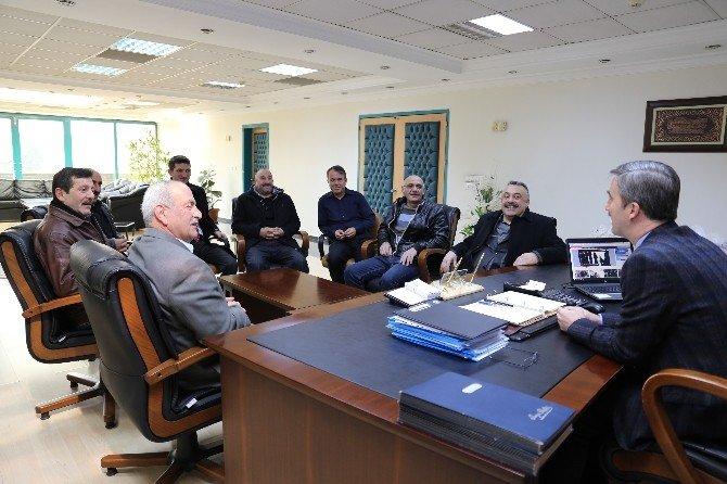 Karadenizliler'den Başkan Şirin'e Teşekkür Ziyareti