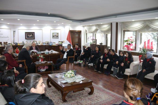 TBESF heyetinden Başkan Salman'a ziyaret