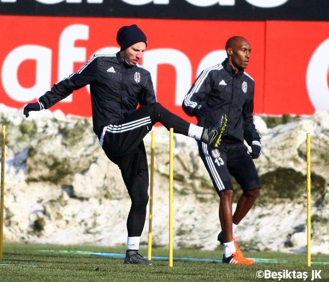 Beşiktaş, kupa maçı hazırlıklarını tamamladı