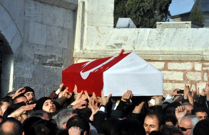 Türkmendağı'nda vefat eden MHP'li Küçük, son yolcuğuna uğurlandı