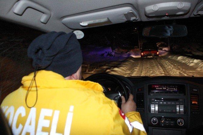 Donmak Üzere Olan Vatandaş 4 Saatlik Operasyonla Kurtarıldı