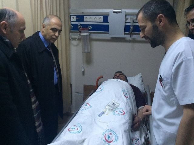 Vali Karahan, Trafik Kazalarında Yaralananları Ziyaret Etti