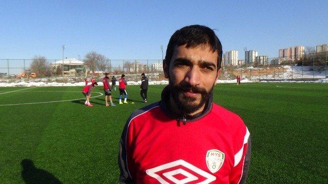 Yeşilyurt Spor Karaköprü Belediyespor Maçının Hazırlıklarını Sürdürdü