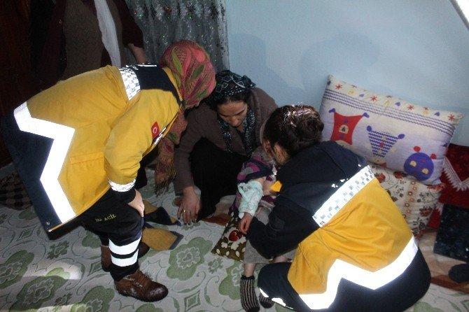 Yüksekova'da Hasta Kurtarma Operasyonu
