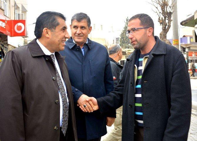 Ceylanpınar Belediye Başkanı'ndan Esnaf Ziyareti
