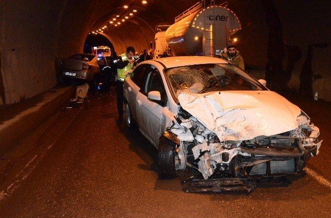 Zonguldak'ta Trafik Kazası: 3 Yaralı