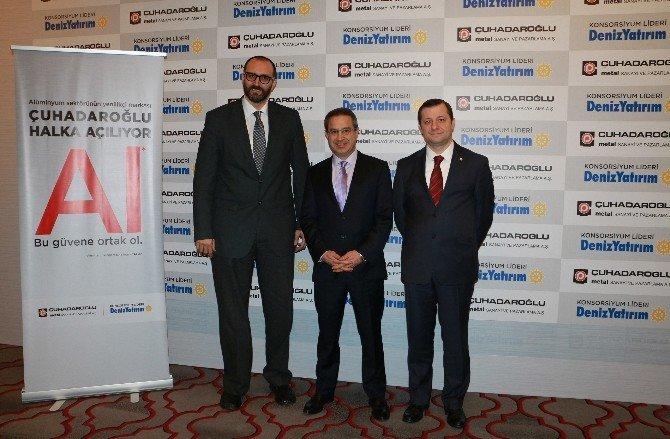 Sektörünün Yenilikçi Markası Çuhadaroğlu Borsa Yolunda