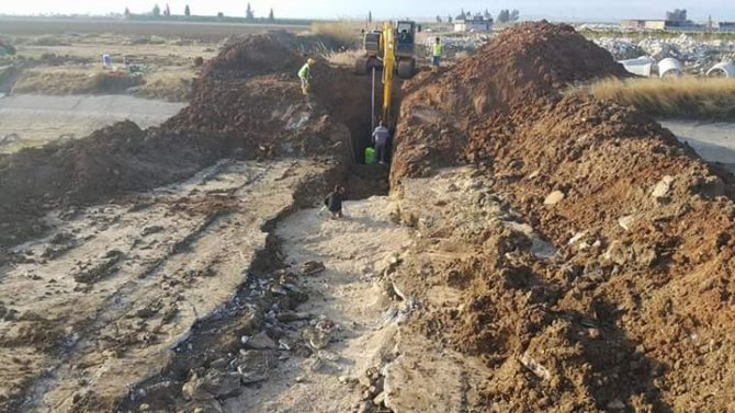21 mahallenin kanalizasyon sorunu çözecek projede sona gelindi
