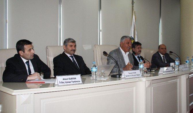 Suriyelilerin 'Çalışma İzinleri' İle İlgili Toplantı Yapıldı
